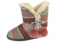W082 - Ladies Knitted Boot